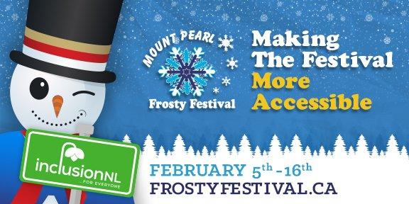 Frosty Festival 2020 banner