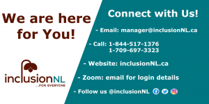 InclusionNL is open and here for you.
